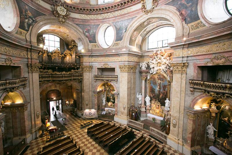 Peterskirche Wien übersicht